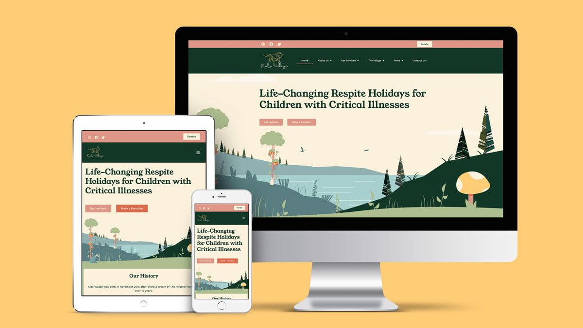 Studio Seventeen Kids Village website