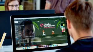 web launch Studio Seventeen
